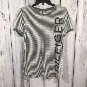 Tommy Hilfiger Spell out Medium Womens Burnout Top
